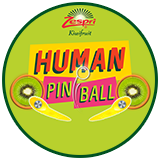 Zespri Largest Human Pinball Game